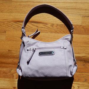 Rosetti Vegan Leather Handbag Lilac Purple Purse